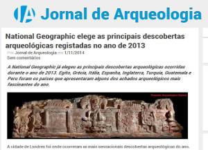 jornal arrqueologia